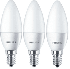 Philips CorePro Ledcandle 4-25W E14 827 B35 FR ND 3 ks