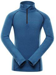 ALPINE PRO fantovska funkcijska majica Neveo 4, 128 - 134, modra