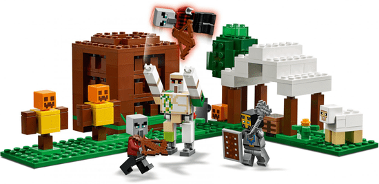 LEGO Minecraft 21159 Pillager erőd