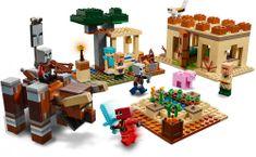 LEGO zestaw Minecraft 21160 Najazd złosadników