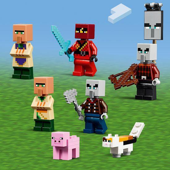 LEGO Minecraft 21160 Illager napad