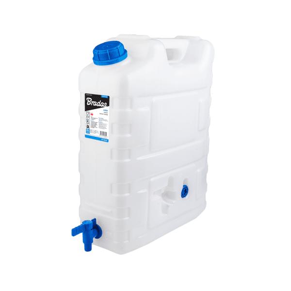 Bradas Plastový kanystr na vodu 20l s kohoutkem KTZ20 BR-KTZ20