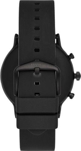 Fossil smartwatch FTW4025 M Black/Black Silicone
