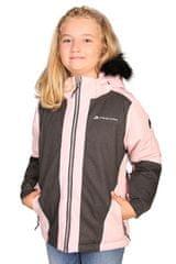 ALPINE PRO kurtka dziewczęca DORO 104 - 110 różowa