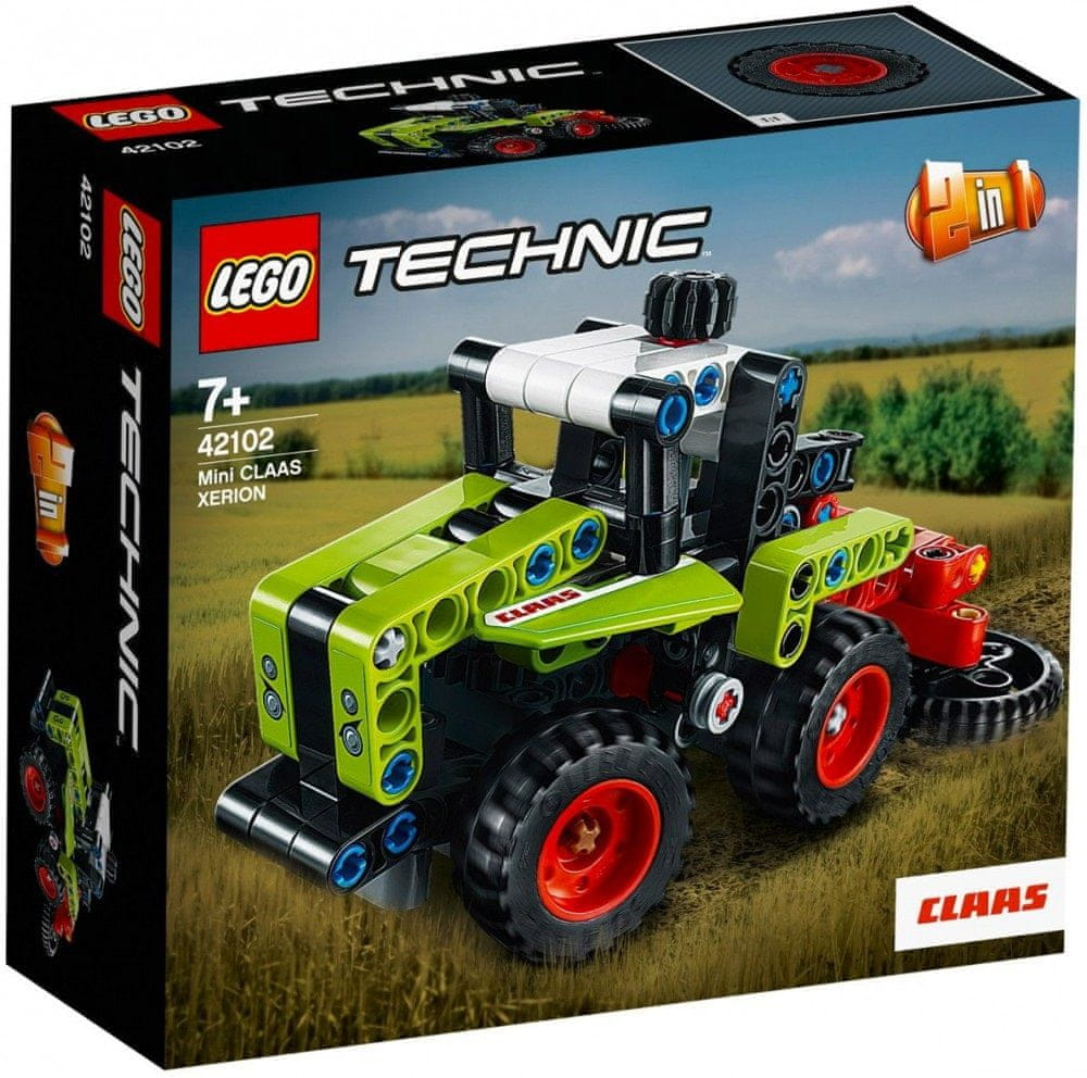 LEGO Technic 42102 Mini Class Xerion - rozbaleno