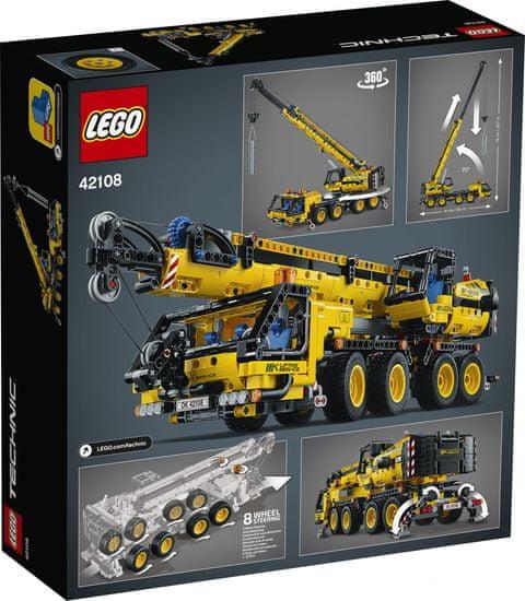 LEGO Technic 42108 Mobil daru