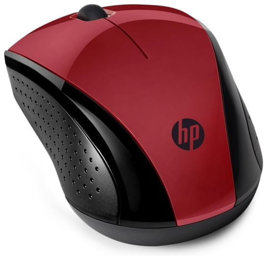 HP mysz bezprzewodowa 220, czerwona (7KX10AA)