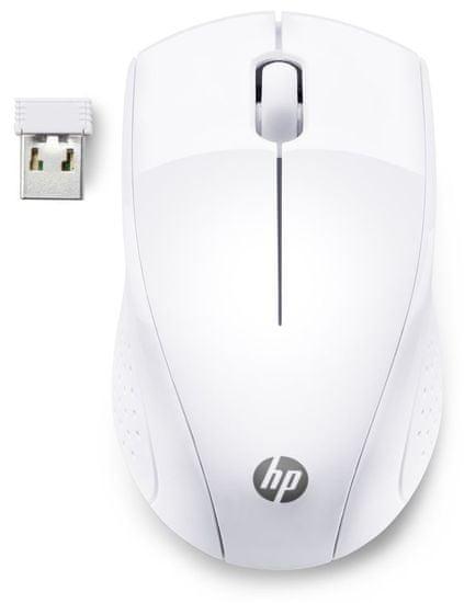 HP mysz bezprzewodowa 220, biała (7KX12AA)