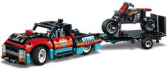 Technic 42106 Furgonetka i motocykl kaskaderski