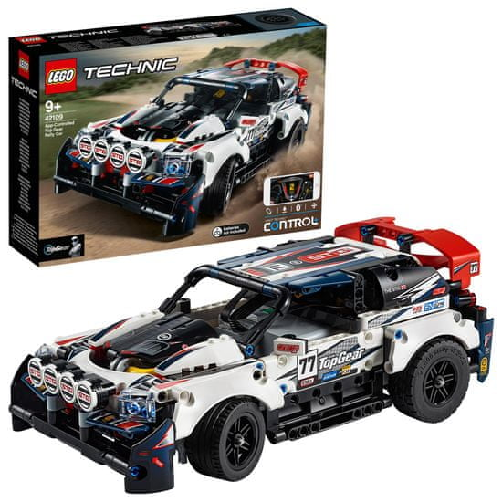 LEGO Technic 42109 RC Top Gear tekmovalni avto