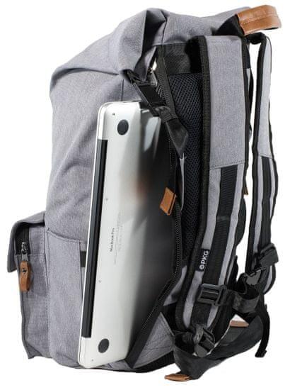 PKG Concord Laptop Backpack nahrbtnik za prenosnik, 38,1 cm/40,6 cm, svetlo siv (PKG-CONC-LG01TN)