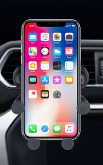 Omega Ouchavs držalo za pametni telefon, za v avto, črno