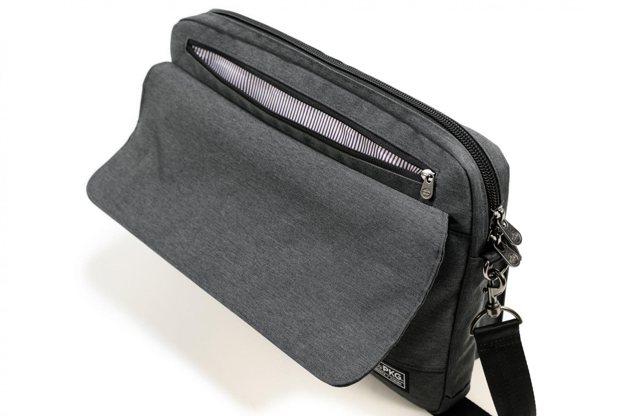 Torba richmond laptop messenger (PKG-RICH-GY01TN) za prenosnik poslovna neformalna organizirana
