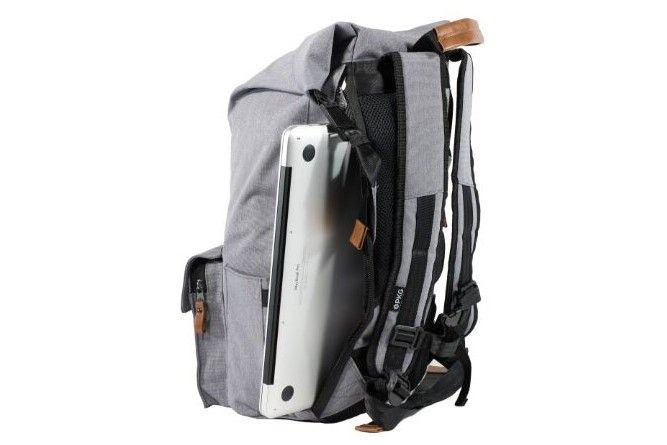 PKG Concord Laptop Backpack (PKG-CONC-LG01TN) 22 l dva sprednja žepa notranja razporeditev dodatna torba