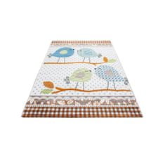 Jutex Detský koberec Kids 520 béžový 1.70 x 1.20