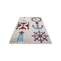 Jutex Detský koberec Kids 510 béžový 1.70 x 1.20