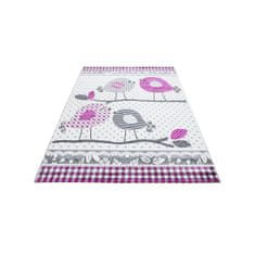 Jutex Detský koberec Kids 520 sivý 1.70 x 1.20