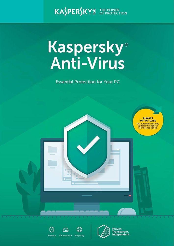 Kaspersky Anti-Virus 2019 CZ pro 2 zařízení na 12 měsíců (KL1171XCBFS) - Elektronická licence