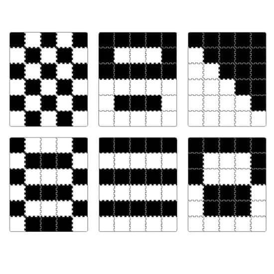 KinderKraft Luno Foam Mat Puzzles penasta podloga