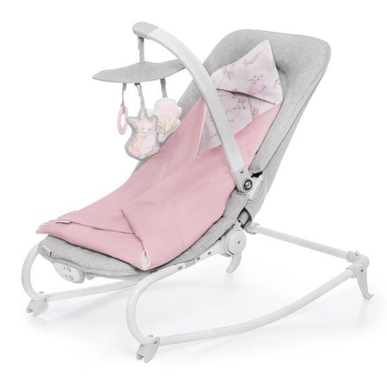 KinderKraft otroški ležalnik Reclining Chair FELIO peony