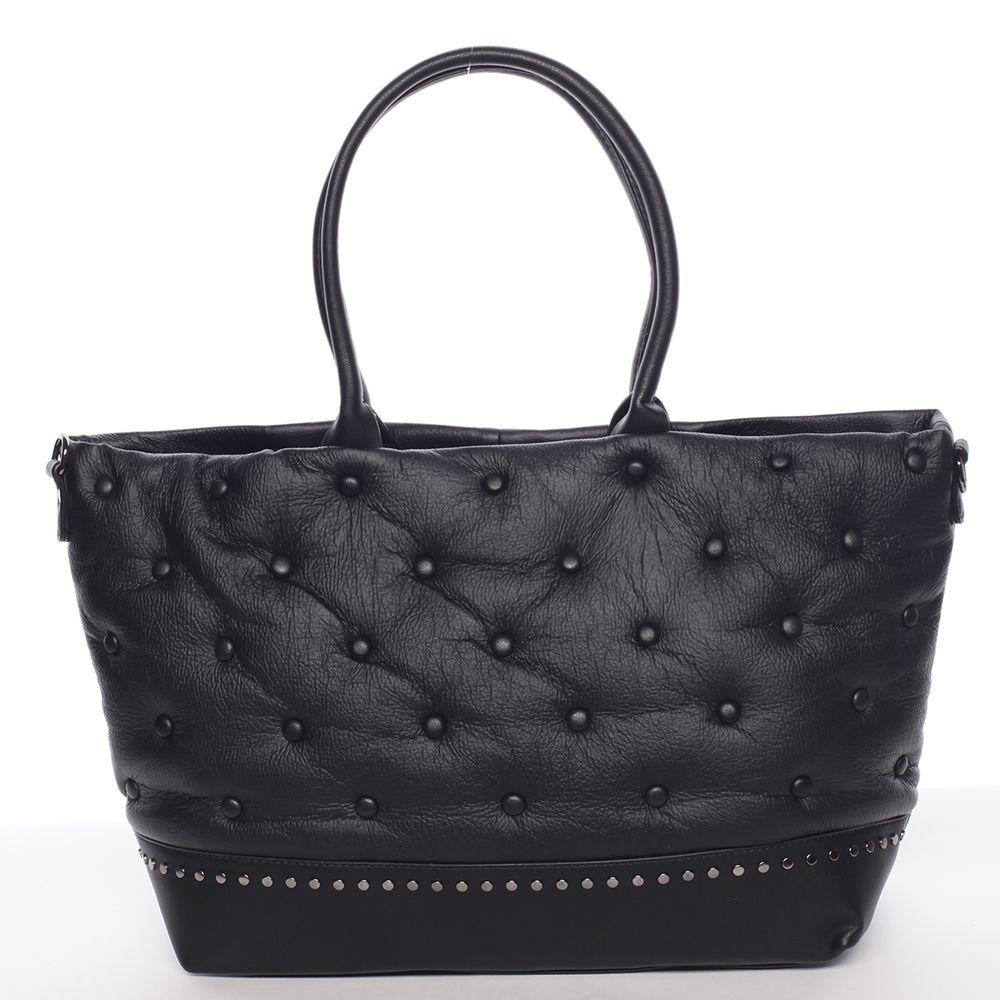 Maria C. Elegantní dámská kabelka Victoria, černá
