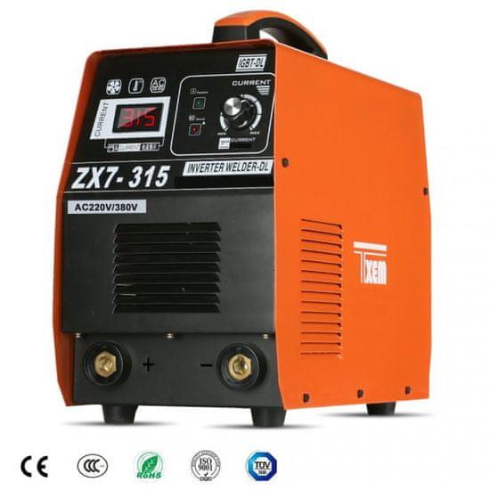 Max Elektródová zváračka ZX7-315M MMA ARC 30A - 315A zvárací Invertor