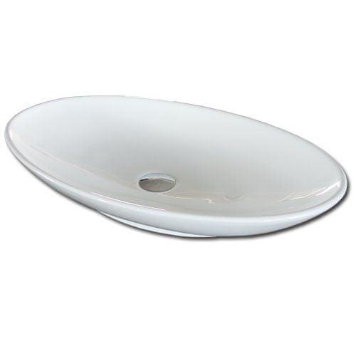 Maxwhite Umývadlo na dosku VENZONE oválné - 69x43x12cm