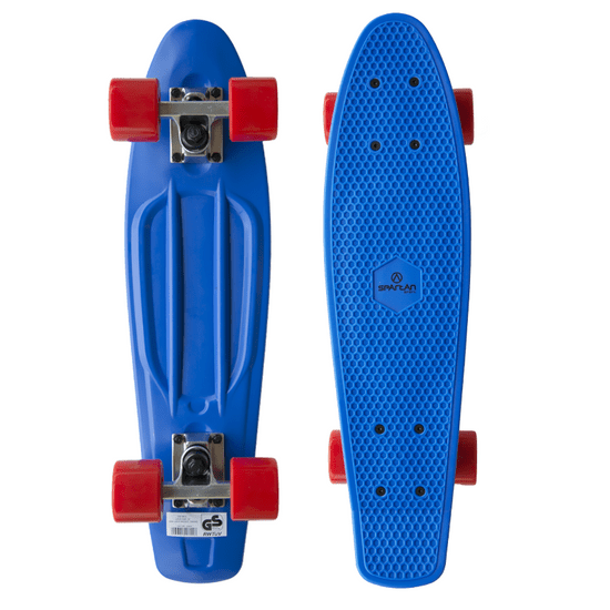 Spartan plastic Penny Board - modrý