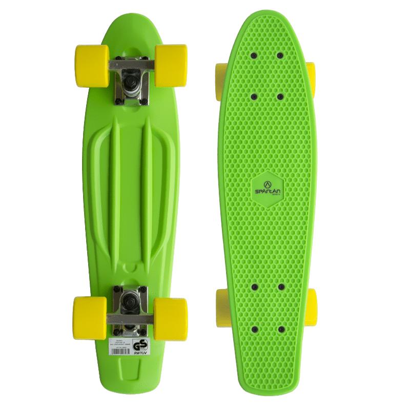 Spartan plastic Penny Board - zelený