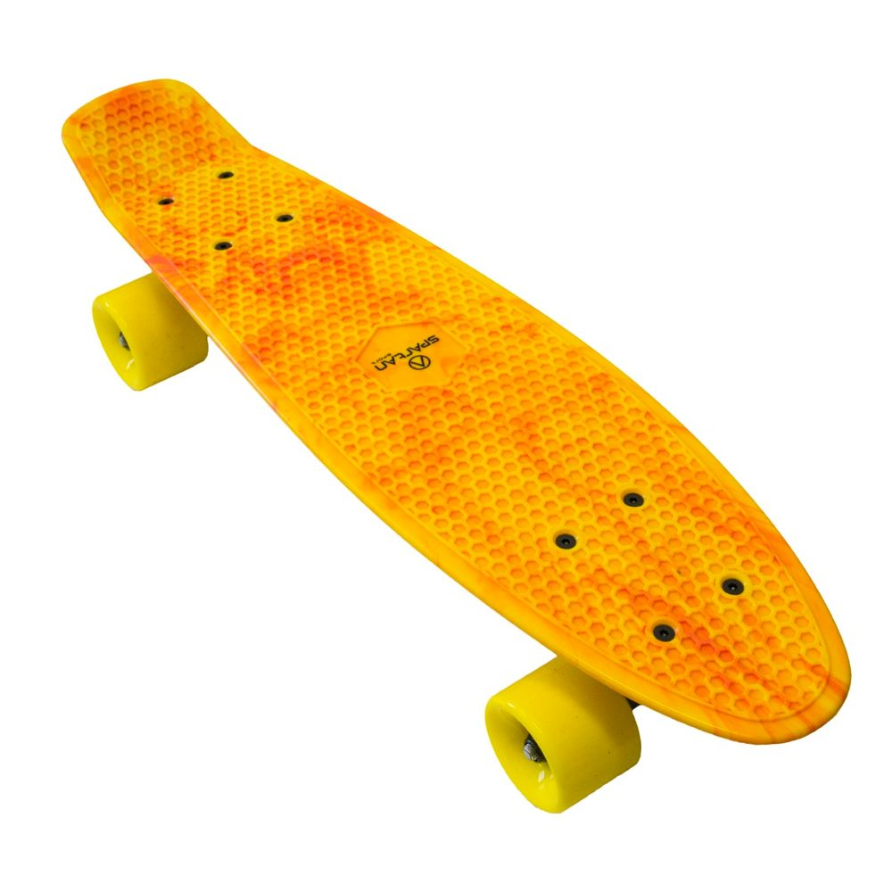 Spartan plastic Penny Board - žlutý