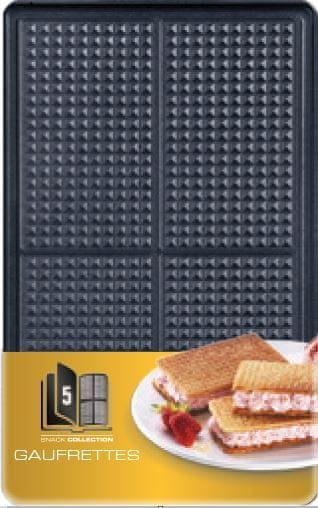 Tefal XA 8005 ACC Snack Collection Waffers Box