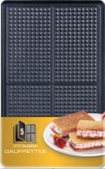 TEFAL XA 8005 ACC Snack Collection Waffers Ostyasütő lap