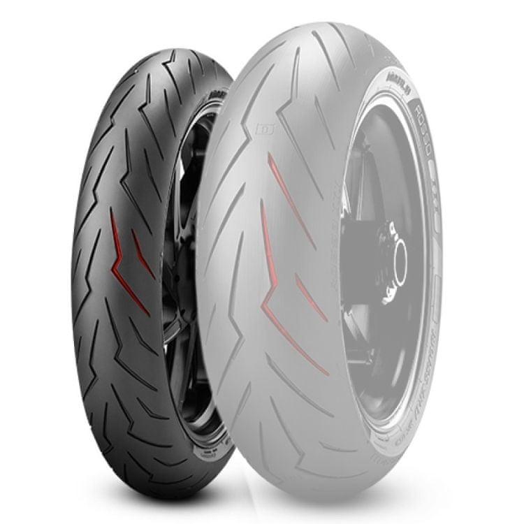 Pirelli 120/70 ZR17 M/C (58W) TL DIABLO ROSSO III přední