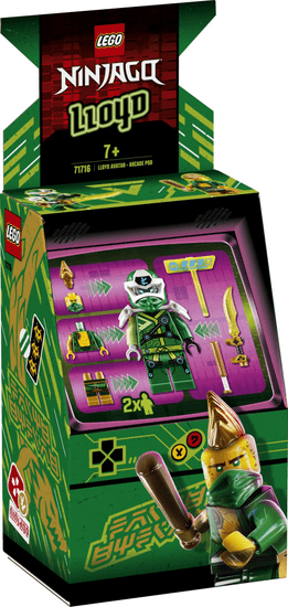 LEGO Ninjago 71716 Lloyd avatárja - árkád automata