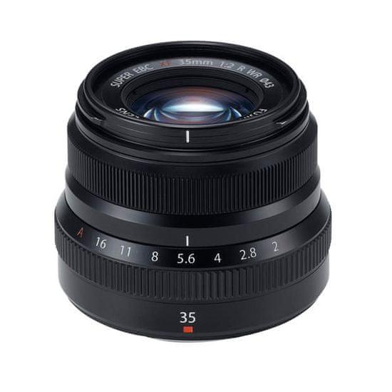 FujiFilm XF 35 mm f2.0 R WR objektiv, crna