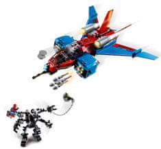 LEGO Super Heroes 76150 Spiderjet vs. Spiderjet Venomov robot