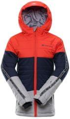 ALPINE PRO gyerek kabát WIREMO 3,92 - 98, piros