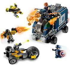 LEGO Super Heroes 76143 Avengers: Boj za tovornjak