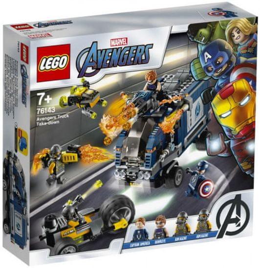 LEGO Super Heroes 76143 Avengers: Borba s kamionima