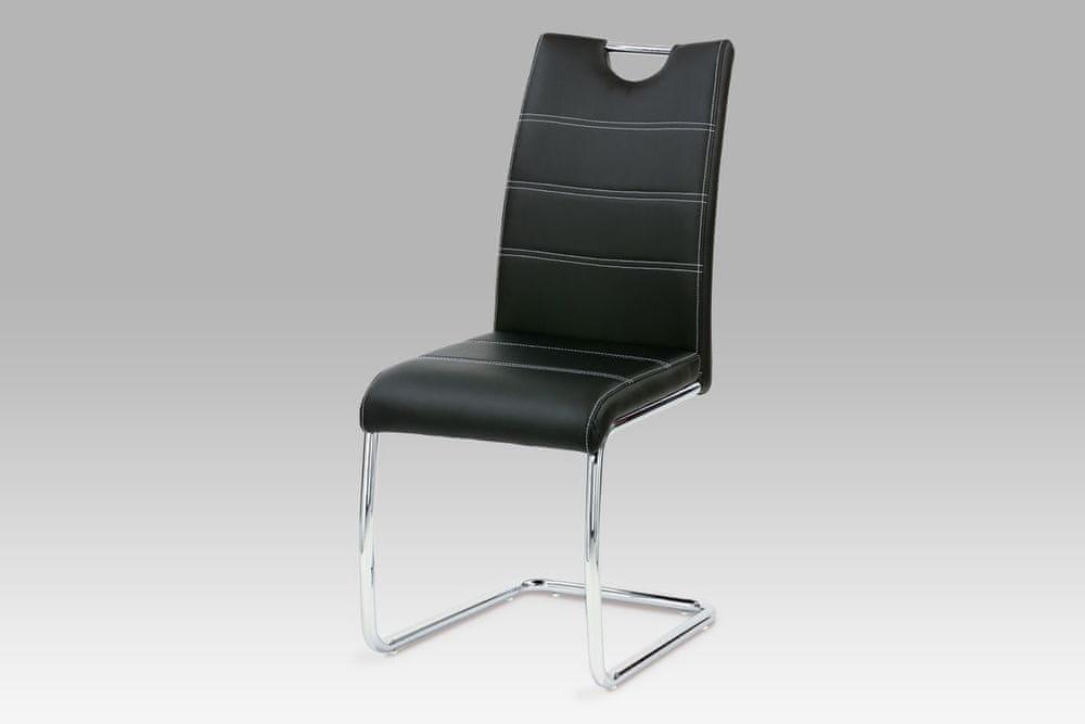 Dalenor Jídelní židle Denise (SET 2 ks), černá