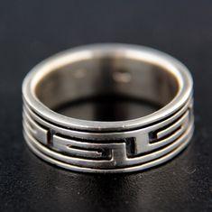 Amiatex Stříbrný prsten 14748, 63
