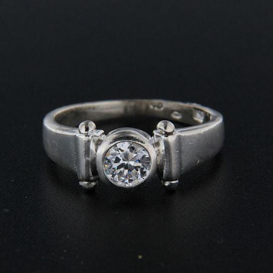 Amiatex Strieborný prsteň 15410