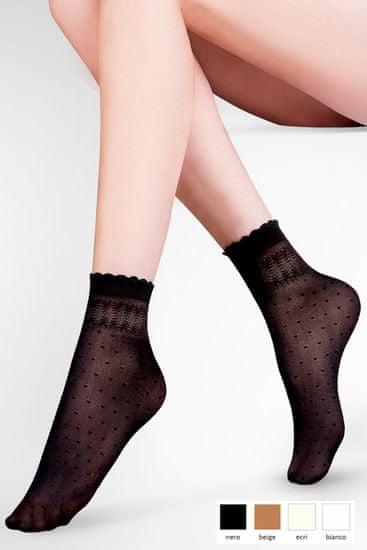 Gabriella Női térdzokni és zokni 695 Pia nero