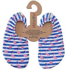 Slipstop dekliški copati Stripe Junior SS17110185, 18 - 20, modri