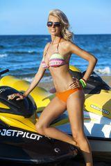 Ewlon Dámské plavky Palermo, vícebarevné, 36