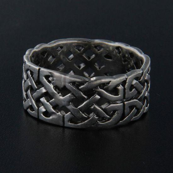 Amiatex Ezüst gyűrű 13967 + Nőin zokni Gatta Calzino Strech, 59
