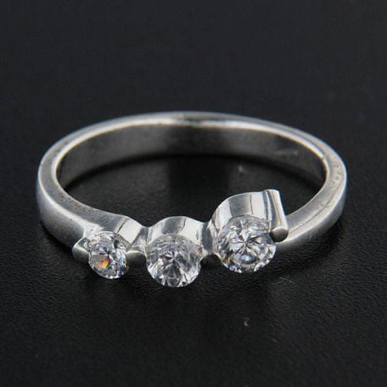 Amiatex Ezüst gyűrű 14353