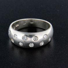 Amiatex Stříbrný prsten 14851, 63
