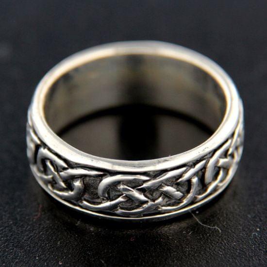 Amiatex Ezüst gyűrű 14849 + Nőin zokni Gatta Calzino Strech