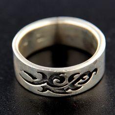 Amiatex Stříbrný prsten 14860, 63